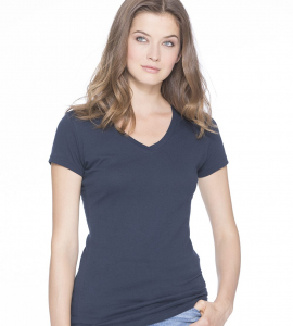 Next Level Ladies Sporty Vneck 3400L