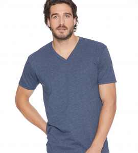 Next Level Cotton/Poly Vneck 6240