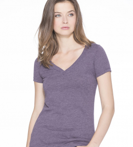 Next Level Ladies Tri-blend  Deep Vneck 6740