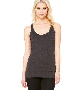Bella+Canvas Ladies Triblend Racerback Tank 8430