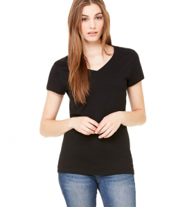 Bella+Canvas Ladies Vneck 6005